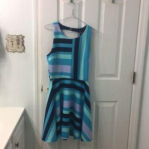 Pixley cut out ponte dress
